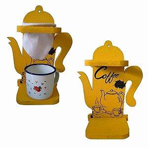 Coador De Café com Caneca esmaltada
