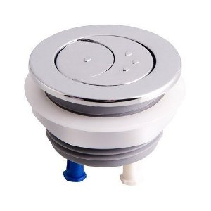 Botão para reparo de caixa de descarga acoplada dual flux