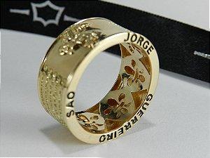 Anel São Jorge Guerreiro