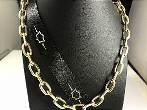 Corrente Cartier Triangulo Ouro 18K 26 Gramas  70 Cm