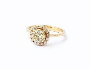 Solitário de Diamantes