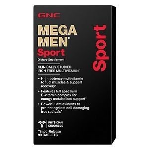 Mega man sports gnc 180 capsulas- IMPORTADO