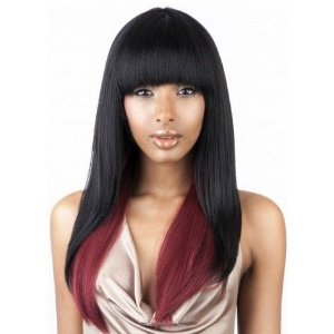 Peruca Full Cap Isis Brazilian Human Hair Mix   Brown Sugar   BS103