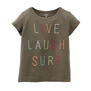 "Carter's - Camiseta ""Live Laugh Surf"""