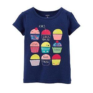 Carter's - Camiseta Cupcakes