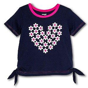 Gerber Graduates - Camiseta Coração de Flores