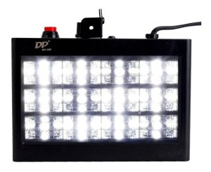 Strobo 12 Leds 15w Room Sensor Rítmico Automático Luz Branca