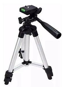 Tripé Camera Suporte Celular Universal 1,20m Telescópico