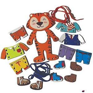 Meus Primeiros Alinhavos Tigre Fashion