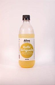 Kefir sabor seriguela – 450ml – livre de corantes e glúten