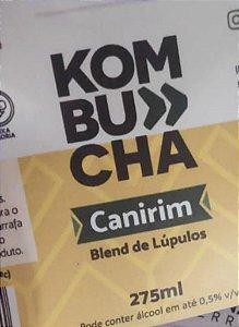 Kombucha – sabor Blend de Lúpulos – 275ml é uma bebida probiótica de origem milenar a base de chás e fermentada naturalmente. É refrescante, levemente gaseificada e de baixa caloria.