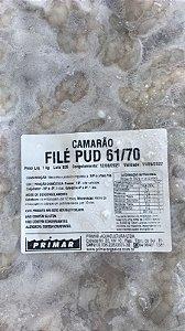 Camarão Descascado Orgânico 61\70 - pacote 1kg