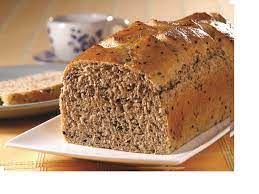 Pão Integral 450g ( sementes gergelim, linhaça, girassol, flocos aveia, 72% farinha integral e 28%branca)