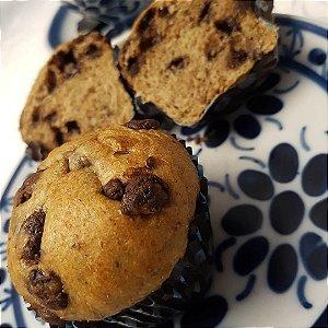 Muffin de Café com Gotas de Chocolate pct com 4 unds