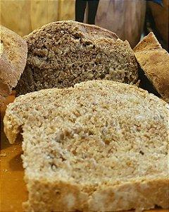 Pão Integral com Amendoim - 450g - contém açúcar mascavo