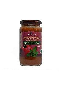 Molho de Tomate com Manjericão Orgânico 325g