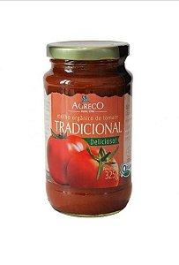 Molho orgânico de tomate Tradicional 335g