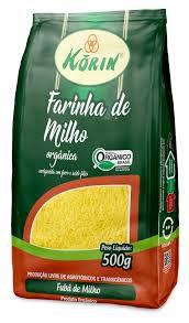 Farinha de Milho Fina Orgânica - 500g