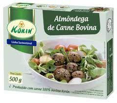 Almôndega de Carne Bovina - 500g