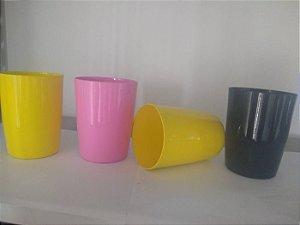 copos em aluminio colorido para sublimação 350ml 25 unidades
