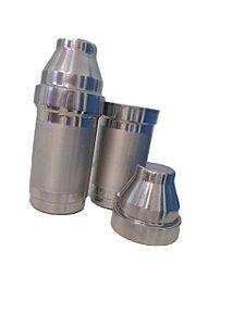Coqueteleira de alumínio com tarja 500 ML para sublimação 1 und