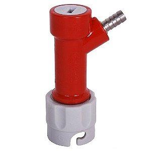 Conector Pin Lock Gás (vermelho e cinza) Espigão