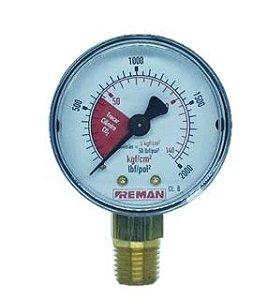 Manômetro 0-140 KGF/CM2 Aço Carbono