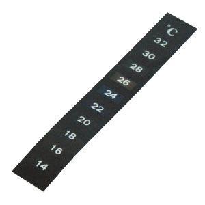 Termômetro Adesivo Vertical de 4C a 28C