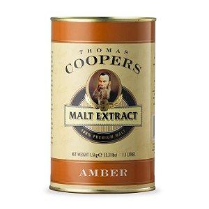 Extrato de malte sem lúpulo Coopers Amber