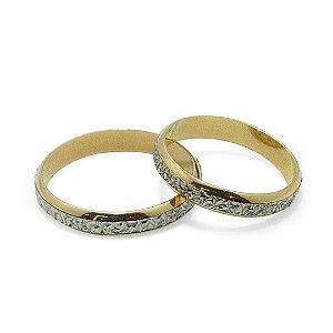 Par de aliança de bodas