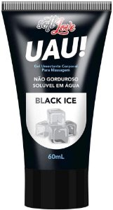 LUBRIFICANTE ÍNTIMO UAU! BLACK ICE 60ML