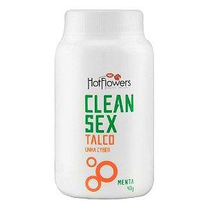 CLEAN SEX TALCO LINHA CYBER MENTA 40G