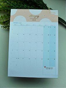 Calendário de mesa sohoTilibra