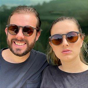 Óculos de Sol Unissex Redondo