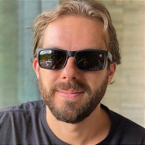 Óculos de Sol Masculino Retangular