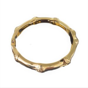 Bracelete Dourado Bambu