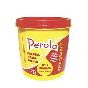 MASSA PARA POLIR BASE AGUA 1KG PEROLA