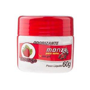 ODORIZANTE EM GEL MORANGO – MONZA 60gr