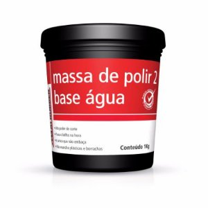 MASSA DE POLIR 2 BASE ÁGUA 1K MAXIRUBBER