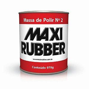 MASSA DE POLIR Nº2 970G MAXIRUBBER