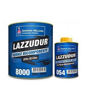 Verniz 8000 750ml + End. 054 150ml  - LAZZURIL