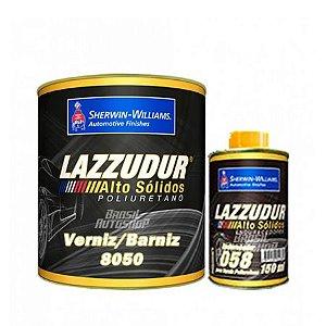Verniz Poliuretano 8050 750ml + End. 150ml  - LAZZURIL