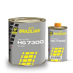 VERNIZ HG 7300 750ml + End. 150ml - BRAZILIAN