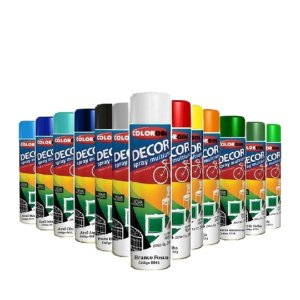 Tinta em Spray DECOR Uso Geral (Diversas cores) - COLORGIN