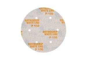 DISCO HOOKIT RHYNOGRIP WHITE P/ LIXADEIRA GIRAFA D225 6F - INDASA