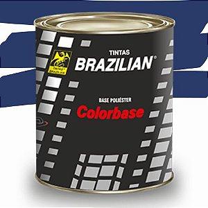 BASE POLIESTER AZUL SANTIAGO PEROLIZADO FIAT 96 900ml - BRAZILIAN