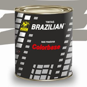 BASE POLIESTER CINZA PLUS MET. VW 84 900ml - BRAZILIAN