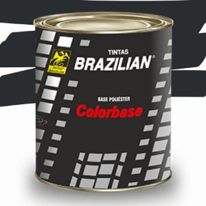 BASE POLIESTER CINZA ORIUM MET 900ML - BRAZILIAN