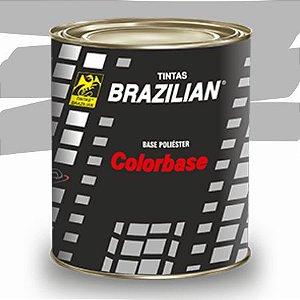 BASE POLIESTER PRATA GEADA MET. FORD 2002 900ml - BRAZILIAN