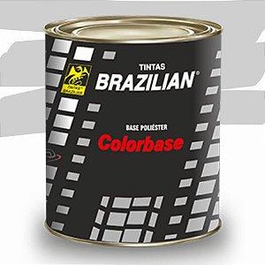 BASE POLIESTER PRATA STRATO MET. FORD 83 900ml - BRAZILIAN